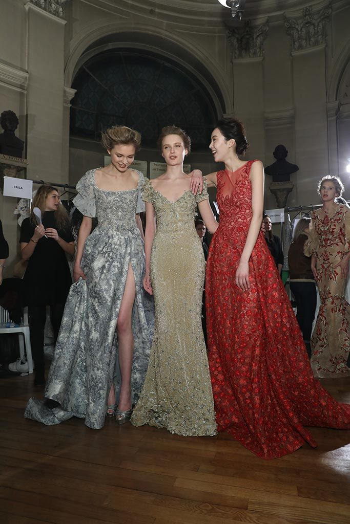 Behind-the-Scenes of the Paris Fashion Show