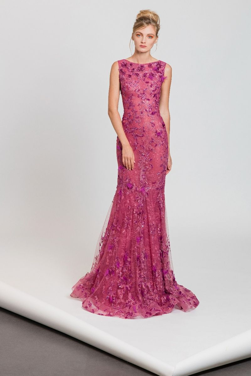 Spring collection evening dresses