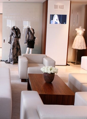 OPENING OF AN EXCLUSIVE COUTURE SHOWROOM IN MOSCOW