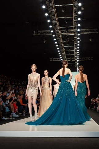 Fashion Show at the Mercedes Benz Fashion Week
