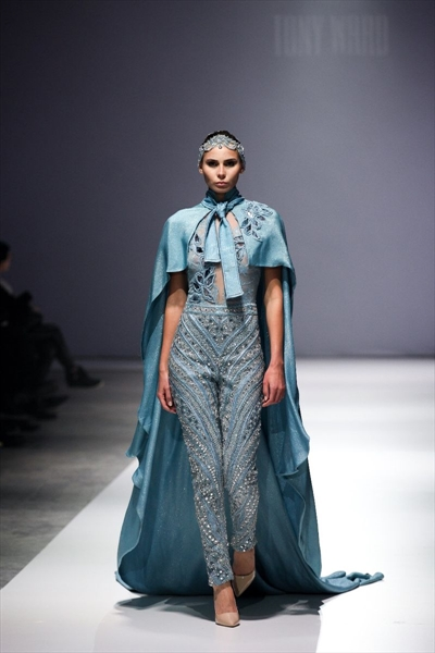 TONY WARD at Almaty fashion days SAUVAGE
