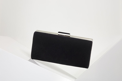 Black plain Clutch