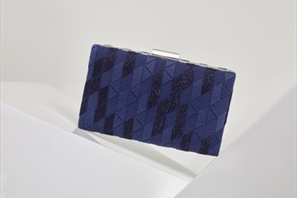 RTW Spring Summer 2018 - Monaco blue Clutch