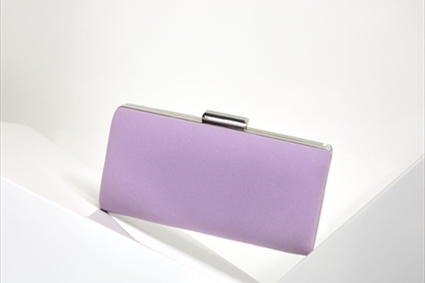 RTW Spring Summer 2018 - Lilac plain Clutch