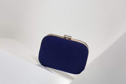 RTW Spring Summer 2018 - Monaco blue plain Clutch