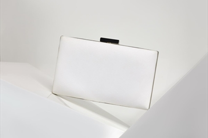 White plain Clutch