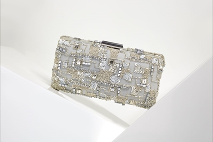 RTW Spring Summer 2018 - Silver embroidered Clutch