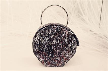 Black Sequin Bag