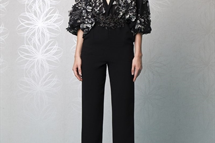 Foliage by Tony Ward - Black Metal Belt