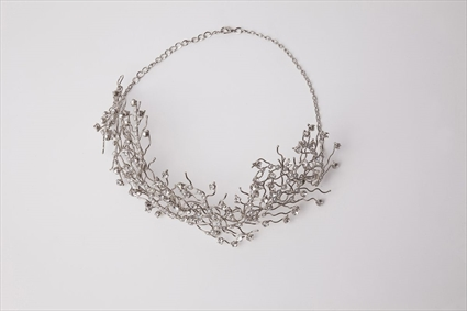 Foliage by Tony Ward - White Metal Belt