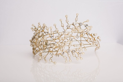 Foliage by Tony Ward - Metal Tiara