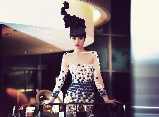 JESSICA MINH ANH IN TONY WARD COUTURE