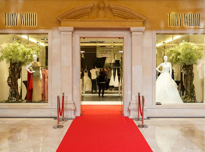 Tony Ward Boutique Opening in Moscow