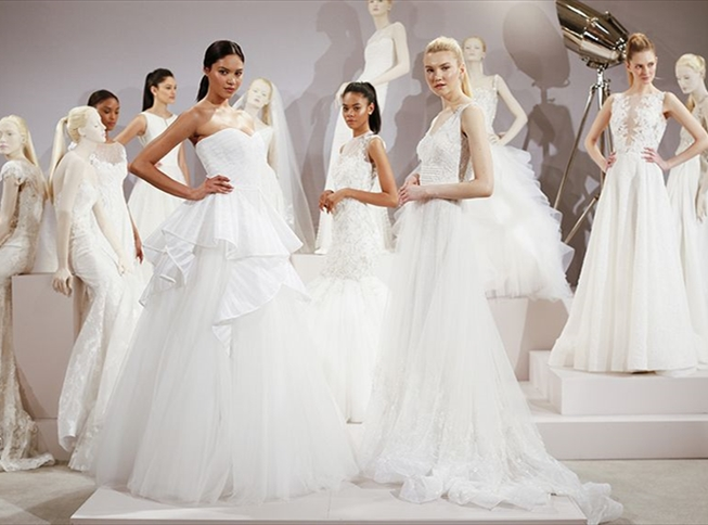 Tony Ward Bridal 2016 premiering at Kleinfeld Bridal, New York